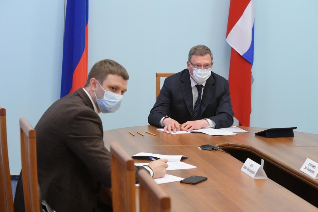 Бурков создал координационный штаб, который займется строительством и капремонтом #Новости #Общество #Омск