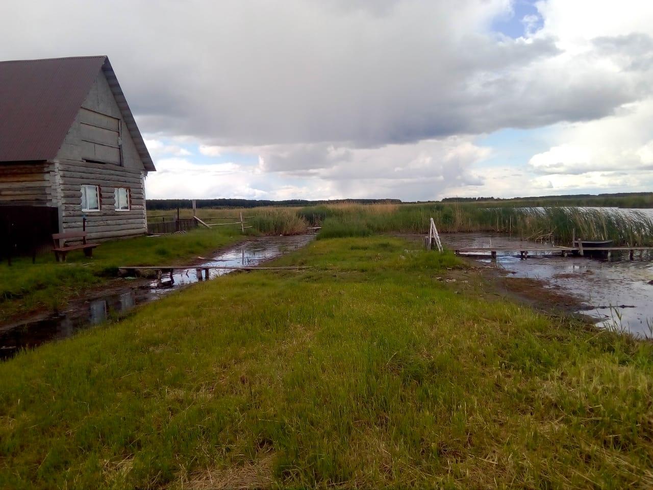 Деревня на западе Омской области пострадала из-за паводка #Омск #Общество #Сегодня