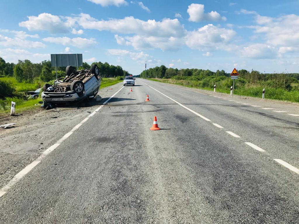 Страшная авария на омской «трассе смерти»: есть пострадавшие #Омск #Общество #Сегодня