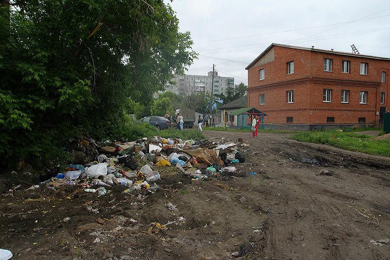 Несанкционированные свалки в Омске не вывозят... из-за покрышек #Омск #Общество #Сегодня