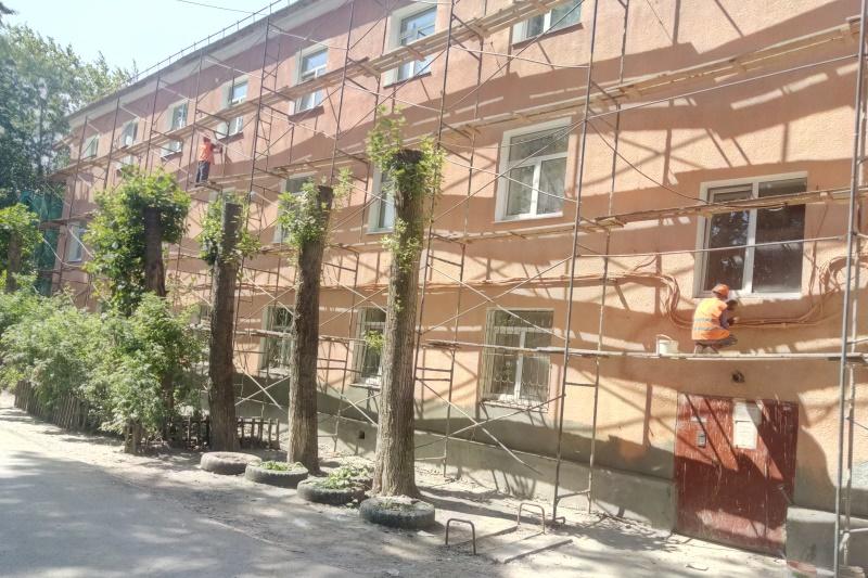 «Омскэлектро» продолжает радовать омичей качественной работой по капремонту #Новости #Общество #Омск