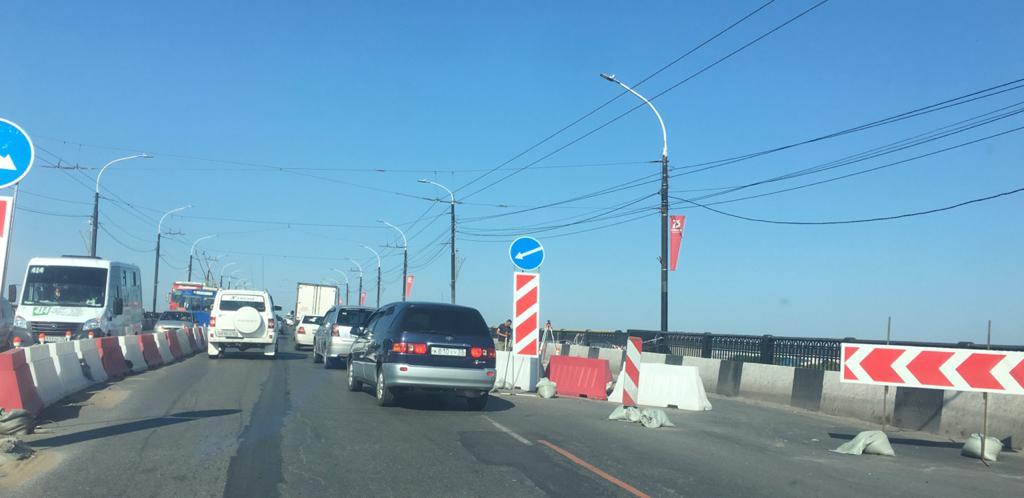 Ремонт Ленинградского моста в Омске идет с опережением графика – мэрия #Новости #Общество #Омск