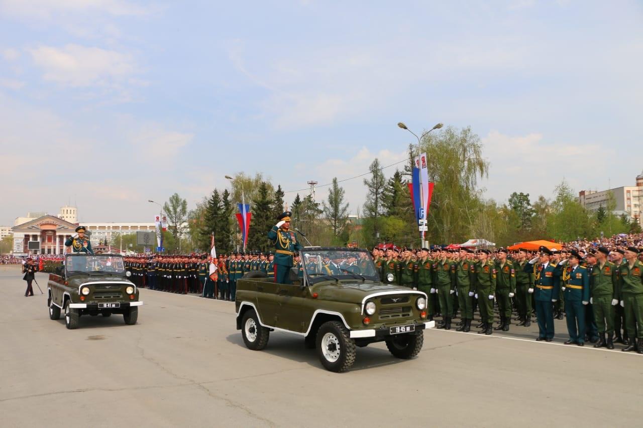 Бурков анонсировал парад в Омске #Омск #Общество #Сегодня