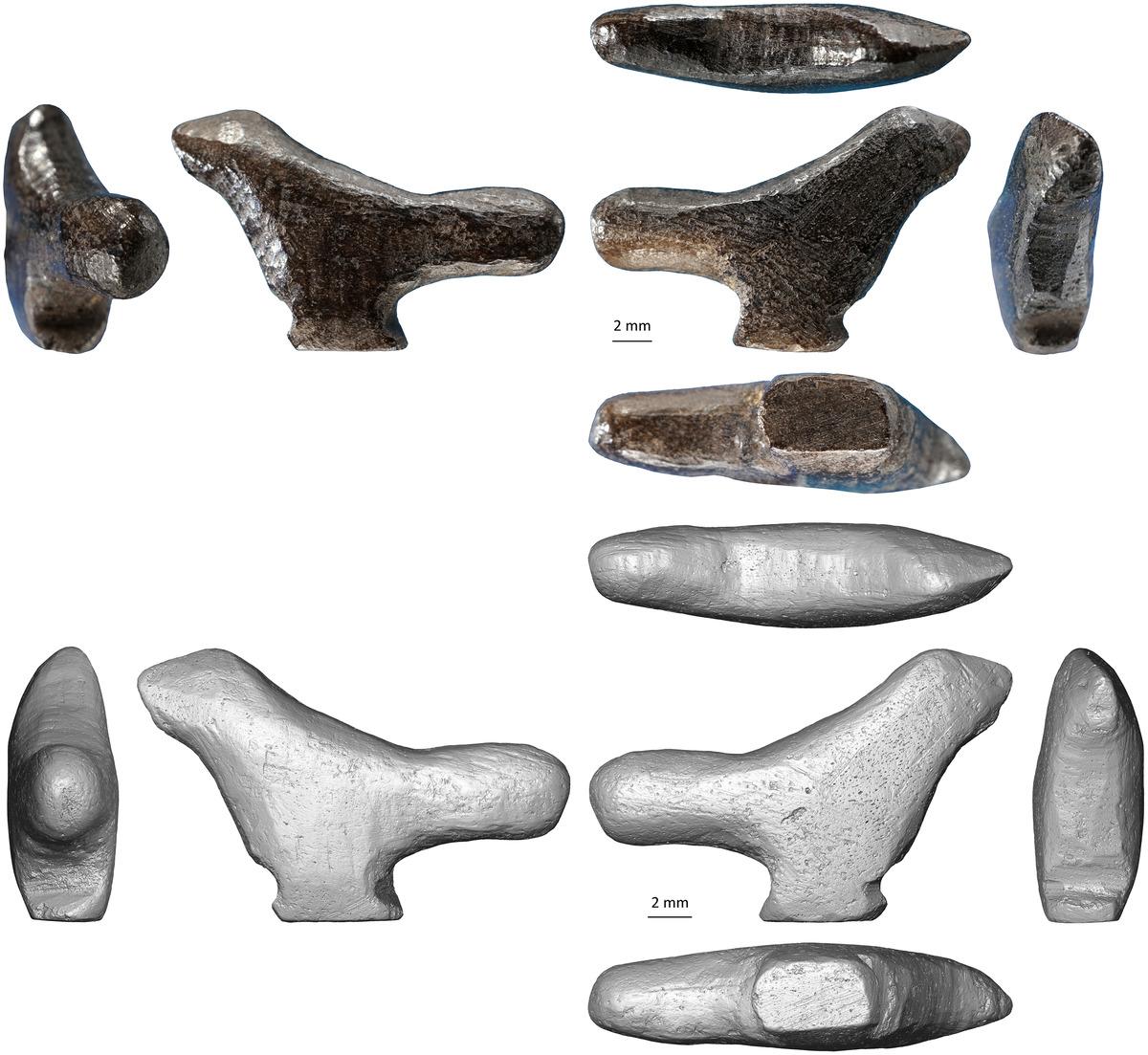 13 300-летняя фигурка птицы найдена в Китае
