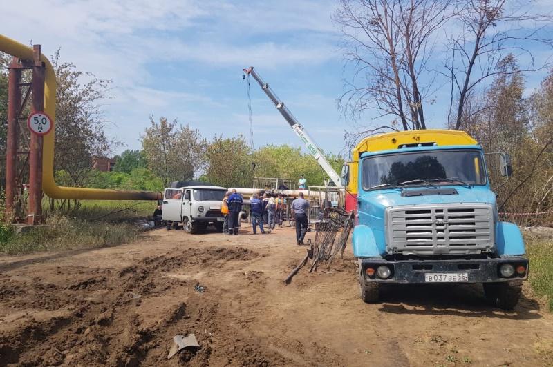 Дома на Левобережье Омска начали подключать к газоснабжению #Новости #Общество #Омск