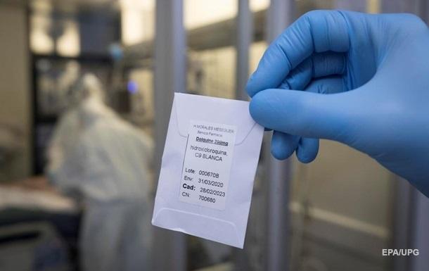 В США запретили прием гидроксихлорохина от COVID