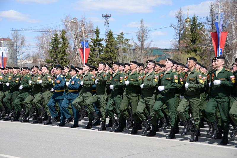 На параде Победы в Омске военные будут в перчатках и масках #Омск #Общество #Сегодня