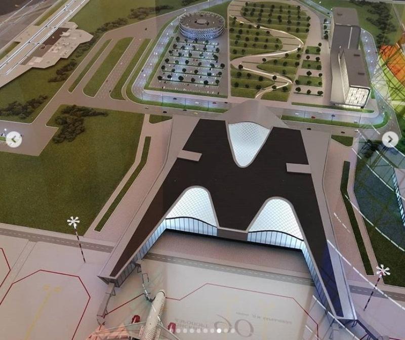 Коронавирус спутал все планы по строительству нового аэропорта в Омске #Новости #Общество #Омск