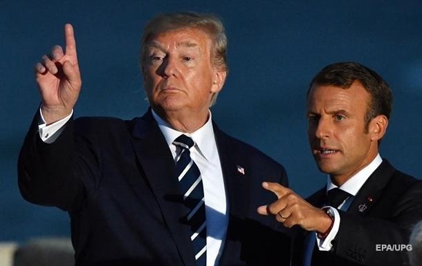 Трамп испытывает неприязнь к Макрону − Болтон