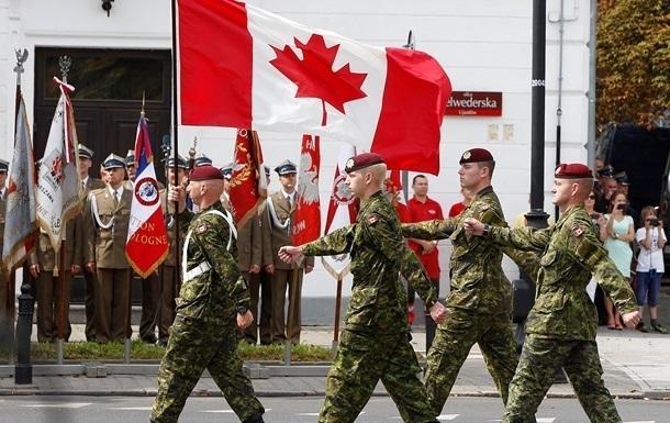 Канадские военные ушли на карантин перед поездкой в Украину