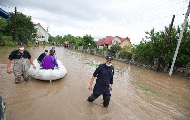 США предоставят Украине финансирование для борьбы с паводками