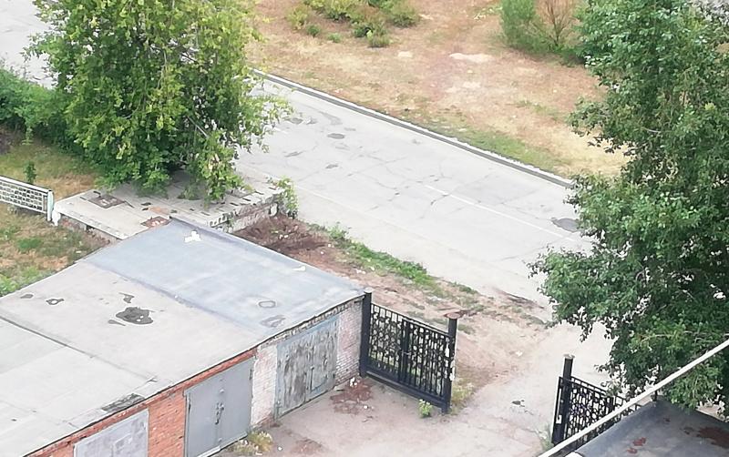 Свалку в 200 метрах от Ленинской администрации наконец-то убрали #Омск #Общество #Сегодня
