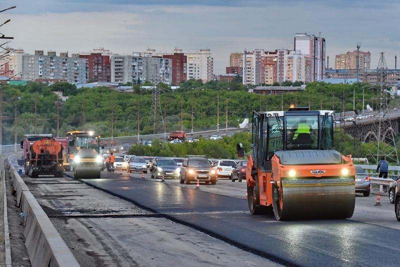 «Горбатый» мост в Омске наконец-то заасфальтируют #Омск #Общество #Сегодня