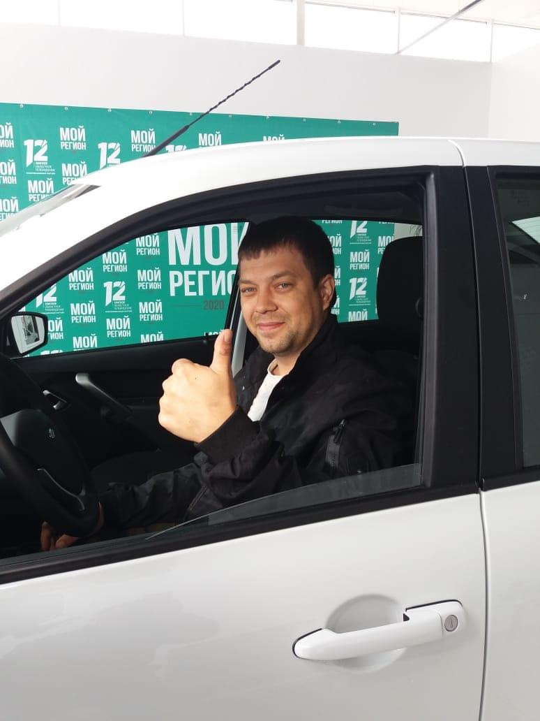 Омский менеджер выиграл автомобиль на голосовании по Конституции #Новости #Общество #Омск