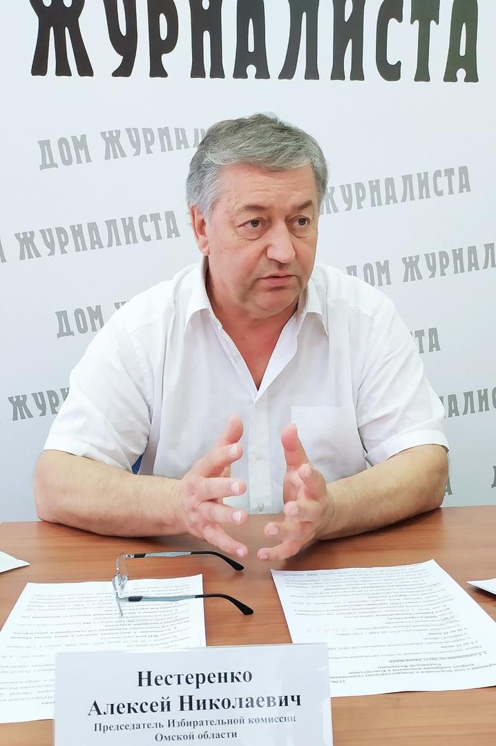 Нестеренко рассказал, как считают голоса на выборах в Омске #Омск #Общество #Сегодня
