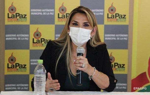 Коронавирус выявили у временного президента Боливии