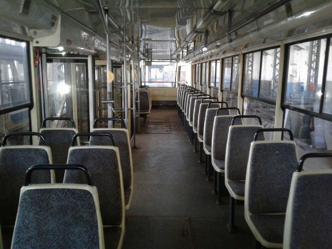 В Омск привезли предпоследнюю партию трамваев из Москвы #Омск #Общество #Сегодня