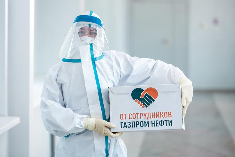 Руководители «Газпром нефти» оказали помощь ОДКБ