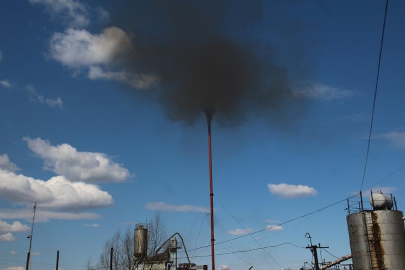 В Омске второй раз за неделю произошли выбросы хлороводорода #Омск #Общество #Сегодня