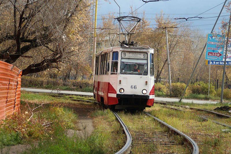 В Омске на вечер, ночь и утро изменили движение 3 маршрутов трамвая #Новости #Общество #Омск