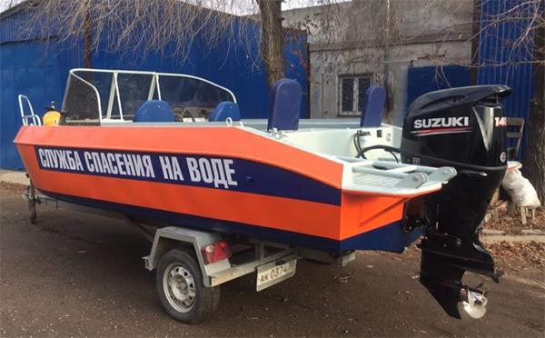 Катер «Россоюзспаса» будет патрулировать Иртыш в омском пригороде #Омск #Общество #Сегодня