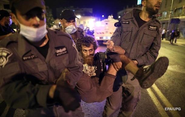 В Иерусалиме задержали 55 протестующих у резиденции Нетаньяху