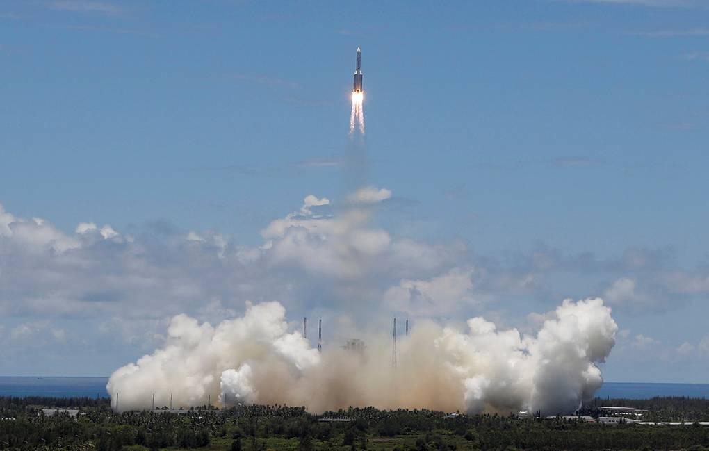 ВИДЕО: успешный запуск китайской миссии Tianwen-1 на пути к Марсу