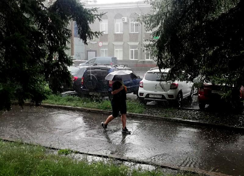 Омичей на новой неделе ждет дождливая погода #Омск #Общество #Сегодня