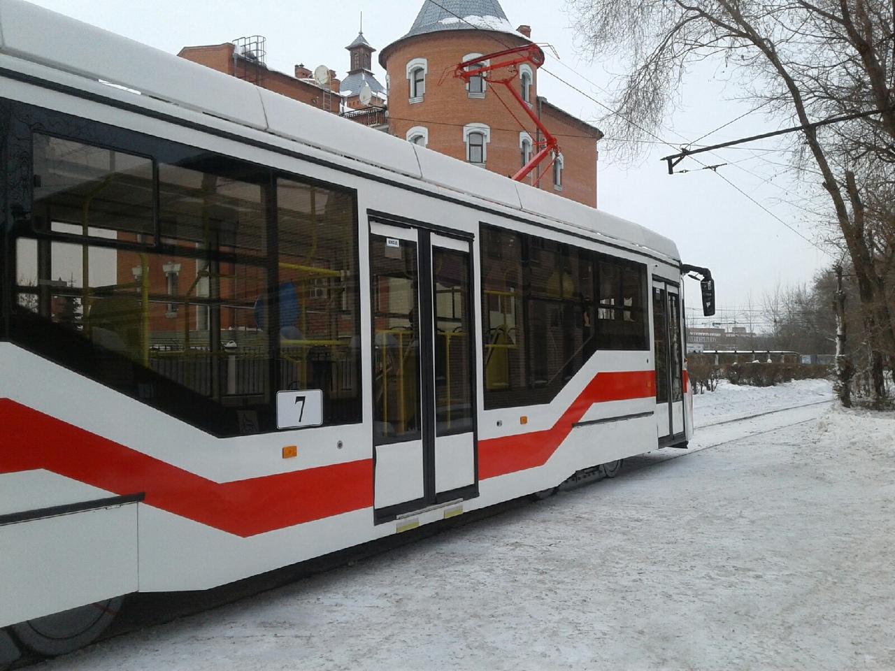 В Омске выбрали поставщика новых трамваев за 688 миллионов #Омск #Общество #Сегодня