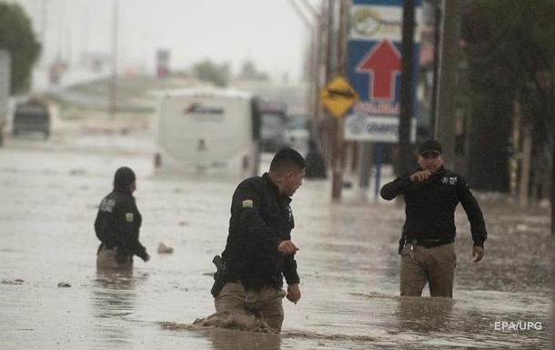 В Мексике четыре человека стали жертвами урагана Ханна