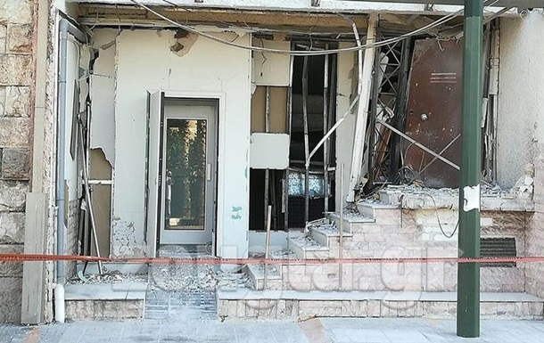 В Греции произошел взрыв у офиса судоходной компании