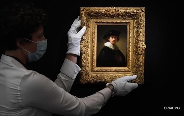 Автопортрет Рембрандта установил рекорд на аукционе Sotheby's