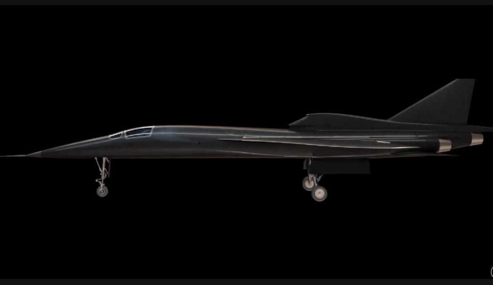 Будущий сверхзвуковой авиалайнер будет летать со скоростью более 2.2 Маха!