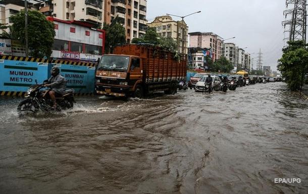 В Мумбаи выпало рекордное количество осадков
