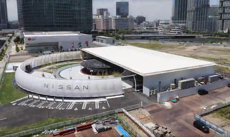 Nissan предлагает оплачивать парковку электроэнергией!