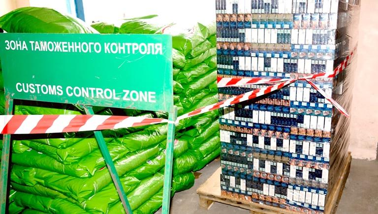 В Омскую область хотели завезти «левые» казахстанские сигареты #Омск #Общество #Сегодня