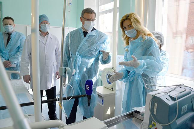 Солдатова заявила о переводе омских больниц «на мирные рельсы» #Новости #Общество #Омск