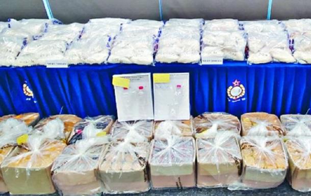 В Гонконге конфисковали крупную партию наркотиков