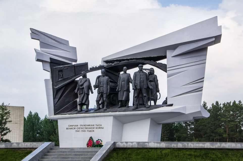 Стела «Город трудовой доблести» в Омске появится только через два года #Новости #Общество #Омск