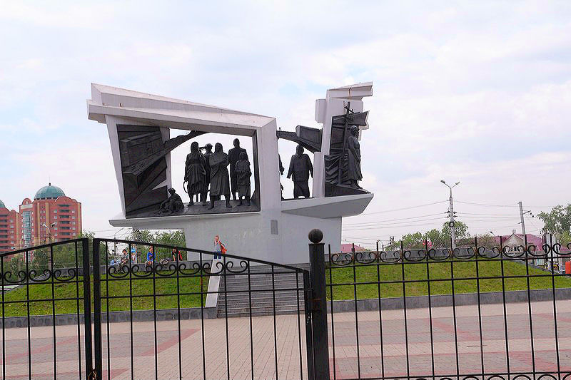 В Омске в последний момент изменили место для стелы «Город трудовой доблести» #Новости #Общество #Омск