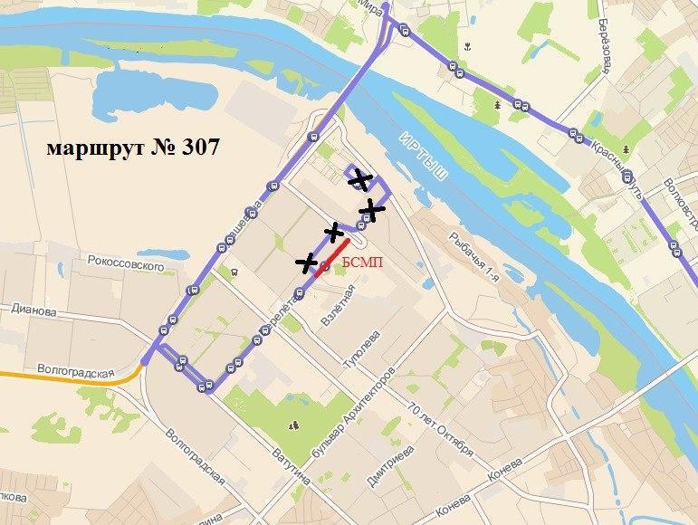 Из-за строительства дороги на Левобережье изменят четыре маршрута #Омск #Общество #Сегодня