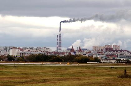 За месяц воздух Омска стал еще грязнее #Омск #Общество #Сегодня