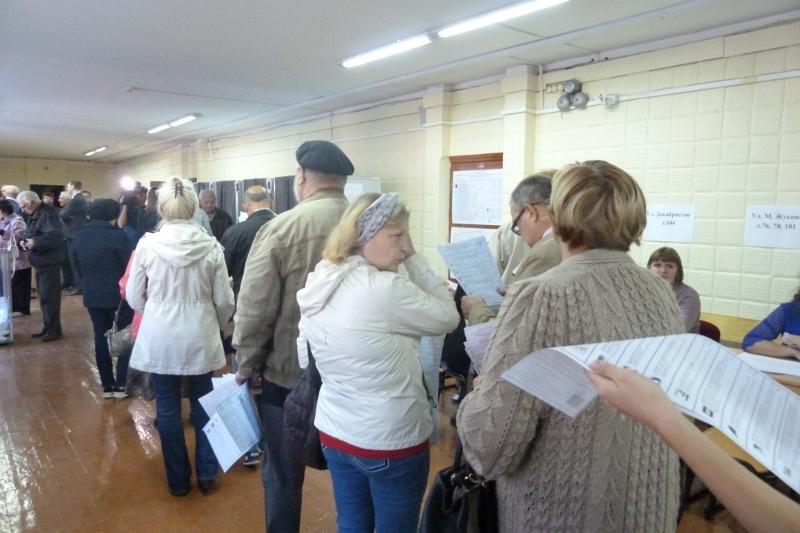 Явка на выборах в Омской области превысила 20% #Омск #Общество #Сегодня