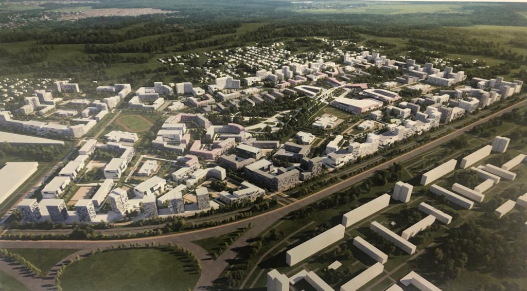 Фадина рассказала о строительстве гигантского района на Левобережье на 30 тысяч омичей #Омск #Общество #Сегодня