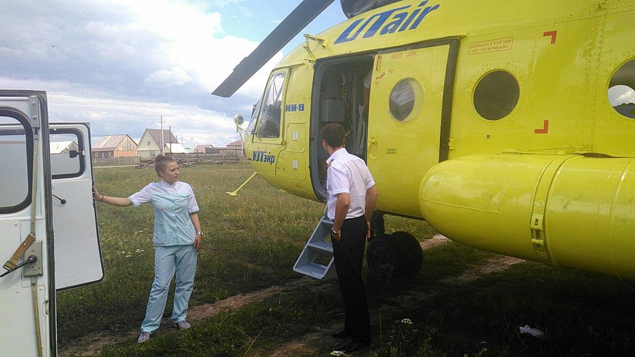 Омич заплатит 460 тысяч за вертолет, госпитализировавший его жертву #Омск #Общество #Сегодня