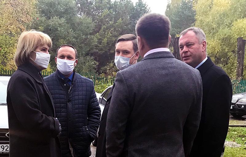 Глава Омского района взял на контроль ремонт школы #Новости #Общество #Омск