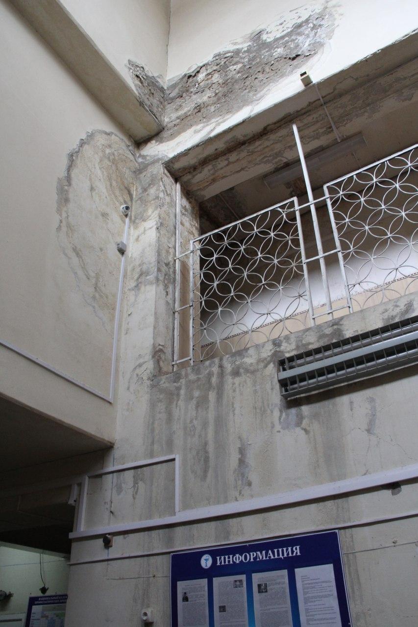 Главу омского минздрава шокировало состояние районной поликлиники #Новости #Общество #Омск