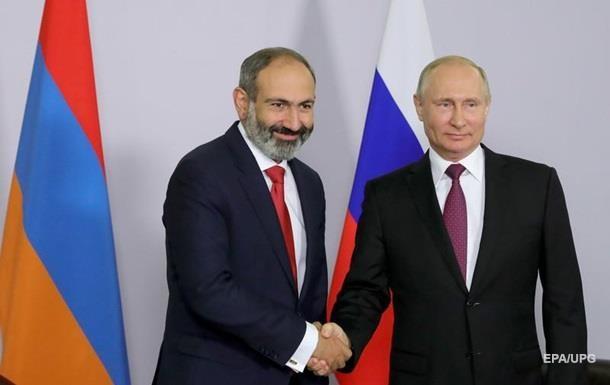 Пашинян пожаловался Путину на наемников в Карабахе