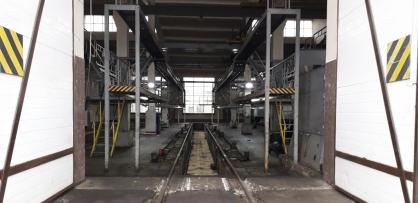 В Омске мойщицу депо зажало локомотивом #Новости #Общество #Омск
