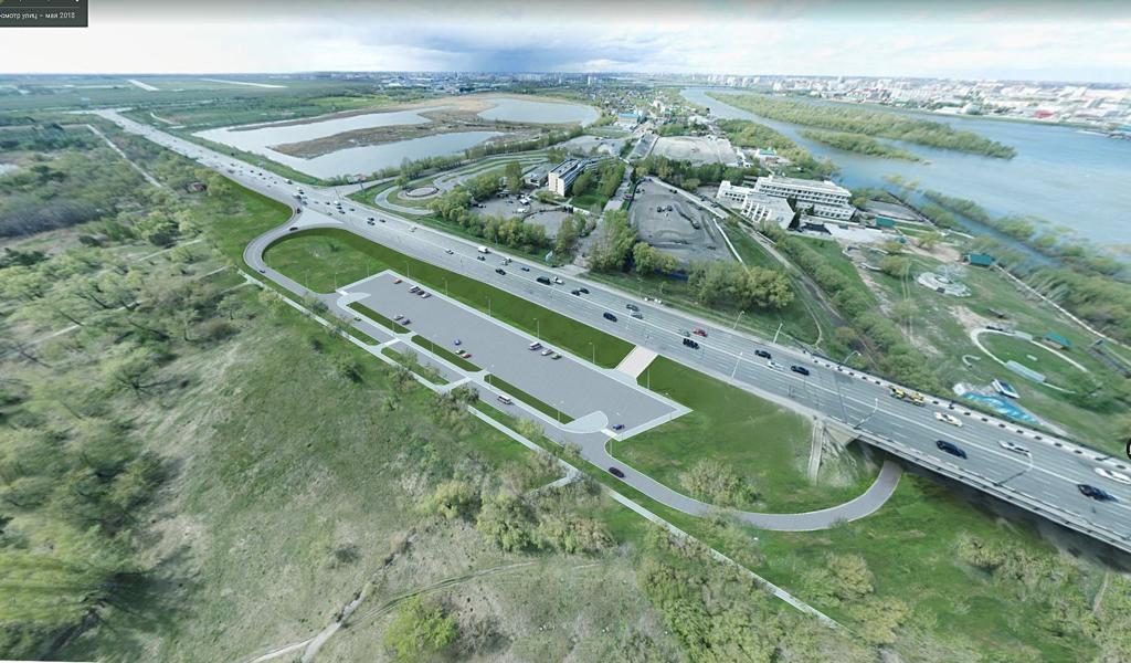 Транспортную развязку у парка Победы построят в 2022 году – мэрия #Новости #Общество #Омск